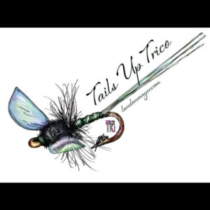 Tails Up Trico Sticker