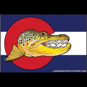 Gator Flag Sticker