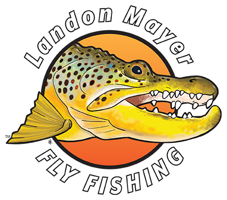 Landon Mayer Fly Fishing Logo